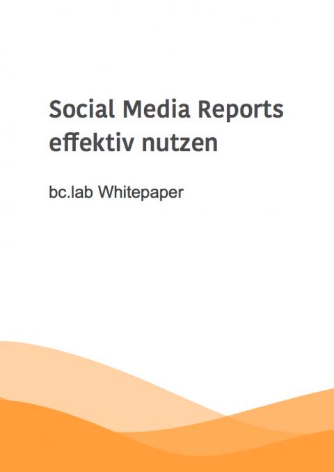 bc.lab Whitepaper: Perfekte Social Media Reports