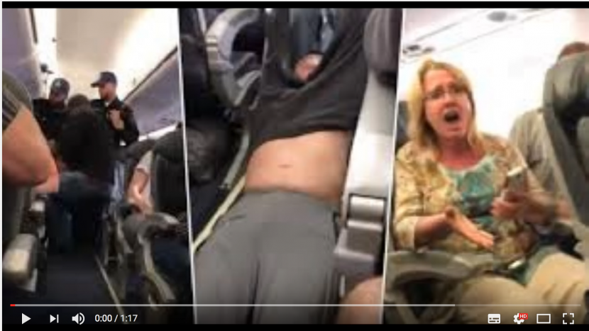 Shitstorm United Express Flight 3411